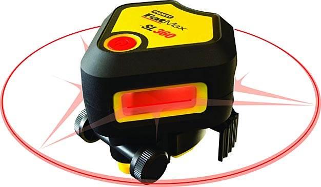 laser plaszczyznowy stanley sl360 - Laser płaszczyznowy Stanley SL360 – nowość na rynku