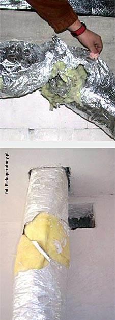 odzysk kontrolowany 6 - Odzysk kontrolowany - wentylacja z odzyskiem ciepła - dobór i montaż