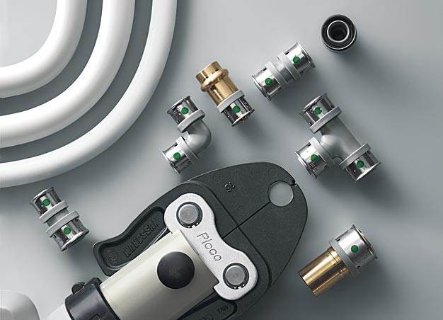 Nowy system rur i zu0142u0105czek PexFit Pro przeznaczony jest zaru00f3wno do wszystkich instalacji wody uu017cytkowej i instalacji grzewczych