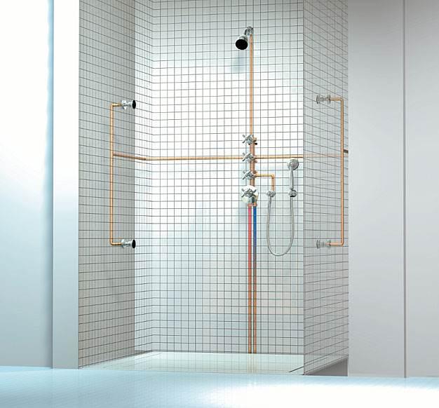 modul termostatu do montazu w linii prostej - Moduł termostatu do montażu w linii prostej