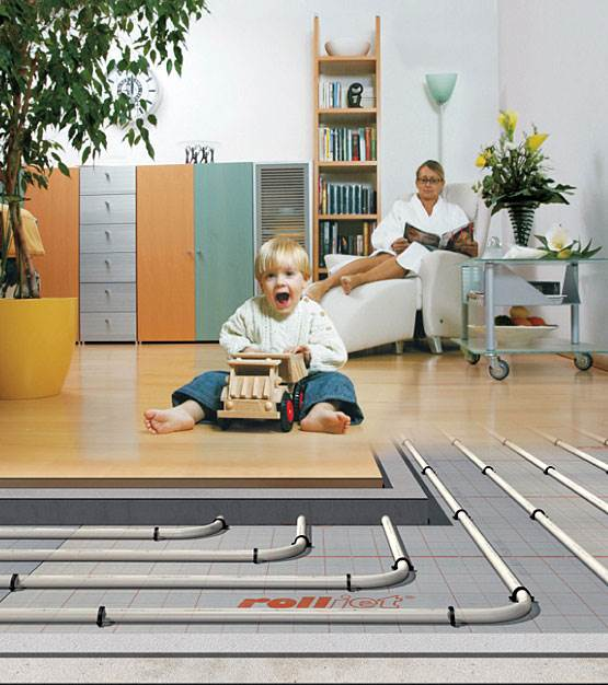 polaczenie instalacji ogrzewania podlogowego z tradycyjnymi grzejnikami - Połączenie instalacji ogrzewania podłogowego z tradycyjnymi grzejnikami