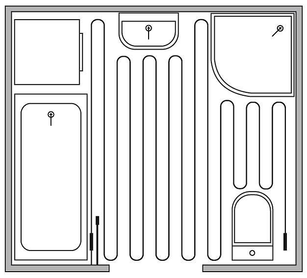 cieplo z podlogi elektryczne ogrzewanie podlogowe 3 - Ciepło z podłogi - elektryczne ogrzewanie podłogowe