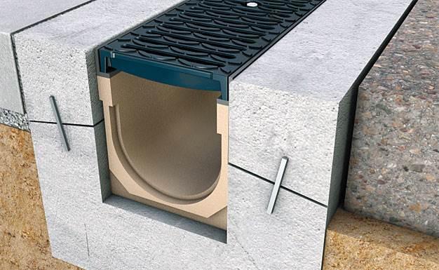 odprowadzanie wody z posesji odwodnienie liniowe 2 - Odprowadzanie wody z posesji - odwodnienie liniowe
