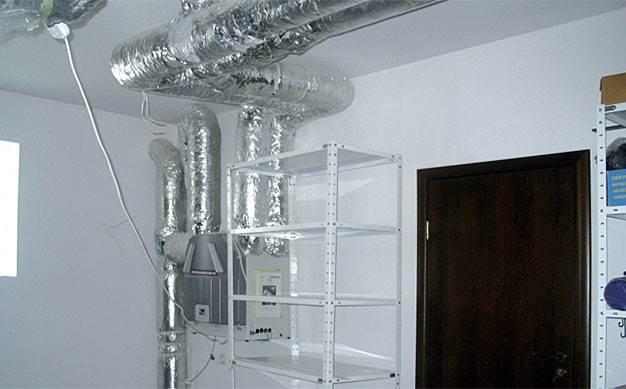 Rekuperator oraz instalacja wykonana z przewodu00f3w sztywnych