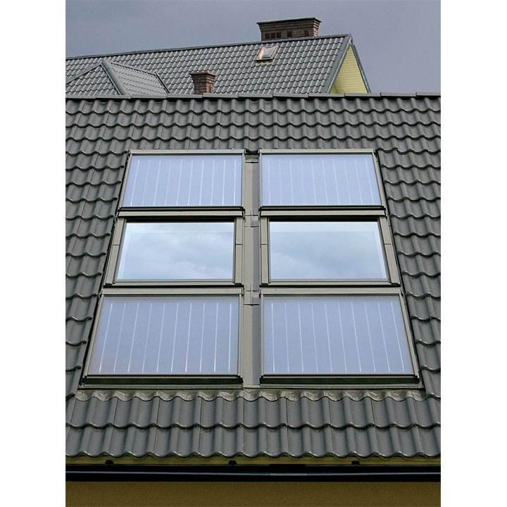 kolektory sloneczne fakro - Kolektory słoneczne SKW oraz SKC firmy FAKRO