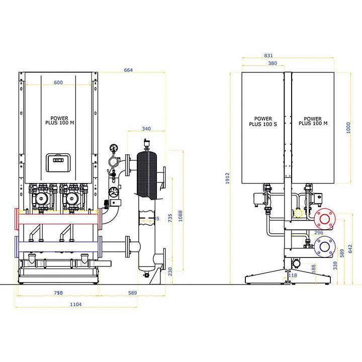 "kotly kondensacyjne power plus montowane kaskadowo - Kotły kondensacyjne montowane ""kaskadowo"""