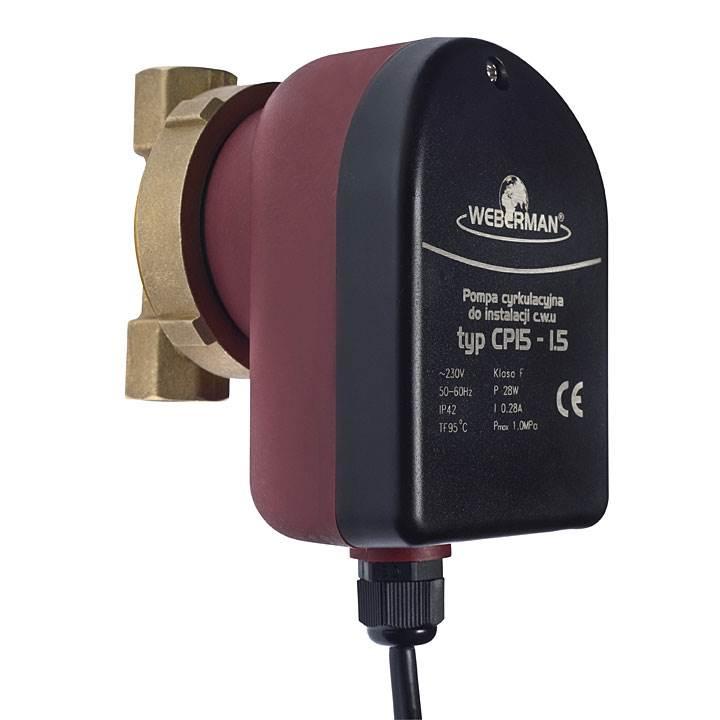 pompa weberman do cyrkulacji cieplej wody uzytkowej - Pompa Weberman do cyrkulacji ciepłej wody użytkowej