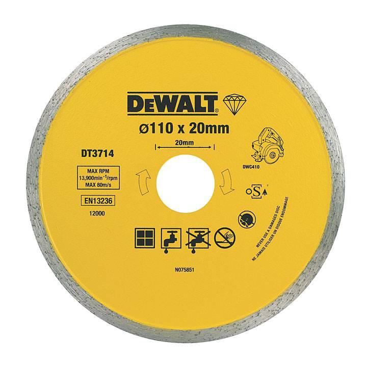 pewne ciecie plytek z dewalt 1 - Pewne cięcie płytek z DeWALT, 1300W 13000obr/min