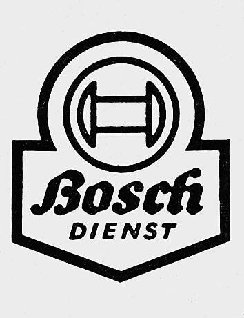 Przedstawiona na ilustracji tzw. latarnia serwisu Bosch została w tym samym roku zarejestrowana jako znak handlowy.