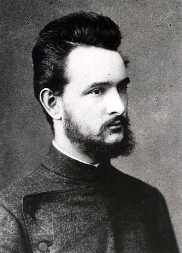 Robert Bosch, zdjęcie z 1886 roku.