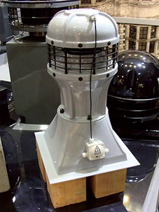 Fot. 3. Hybrydowy wentylator dachowy MAG-200.