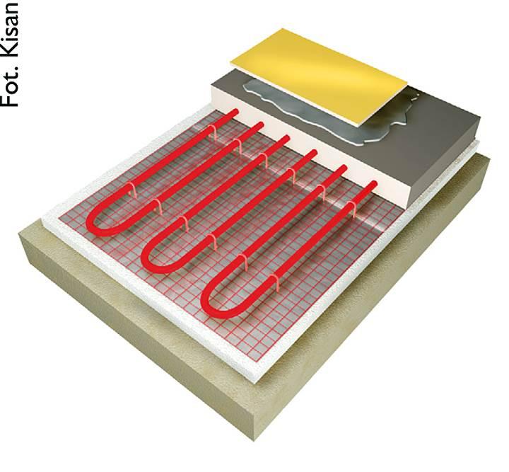 elementy wodnego 2 - Elementy wodnego systemu ogrzewania podłogowego