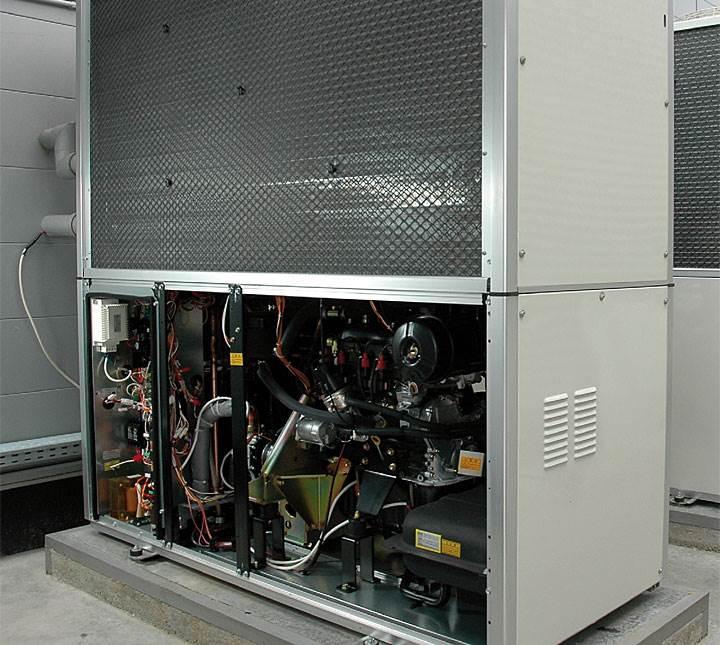 Fot. 3. Jednostka zewnnętrzna serii D1 o mocy 71/84 kW