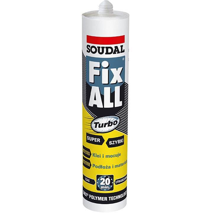 klej pierwszej potrzeby - Klej pierwszej potrzeby Soudal Fix All Turbo