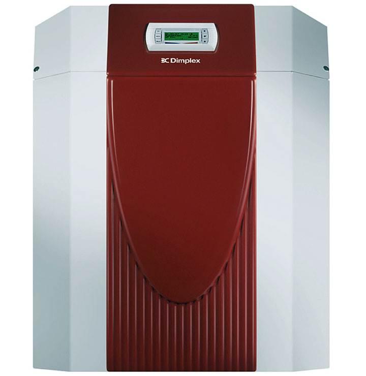 Fot. 3. Dimplex SI 11TU – pompa ciepła solanka/woda do instalacji wewnętrznej ze zintegrowanym układem regulacji WPM Econ Plus. Moc grzewcza - 10,9 kW, temp. zasilania: 62°C, COP (B0/W35) 4,9. Wysokowydajna, uniwersalna pompa ciepła, możliwość przygotowania ciepłej wody użytkowej i wszechstronnymi możliwościami rozszerzenia.