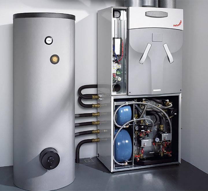 Fot. 8. Pompa ciepla i rekuperator w jednym urządzeniu. Kompaktowa centrala Zehnder ComfoBox łączy fukcje ogrzewania, chłodzenia, wentylacji i podgrzewania wody.