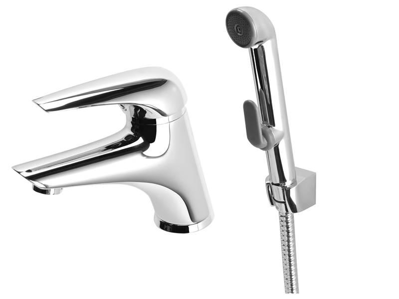 baterie z wezem i sluchawka - Baterie umywalkowe z wężem i słuchawką – praktyczne rozwiązanie w każdej łazience