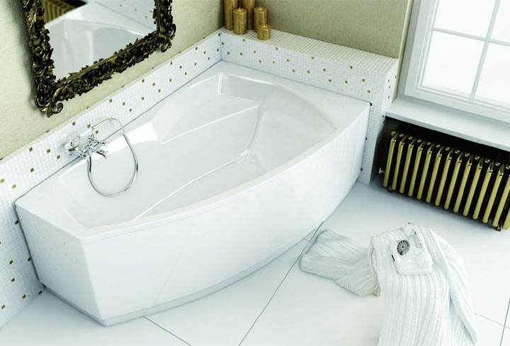funkcjonalne i wygodne wanny asymetryczne - Funkcjonalne i wygodne wanny asymetryczne – wybierz idealny model do swojej łazienki