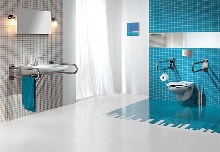 Fot. 4. Nowoczesne spłuczki podtynkowe pozwalają na dowolną aranżację przestrzeni łazienki. Fot.: Koło