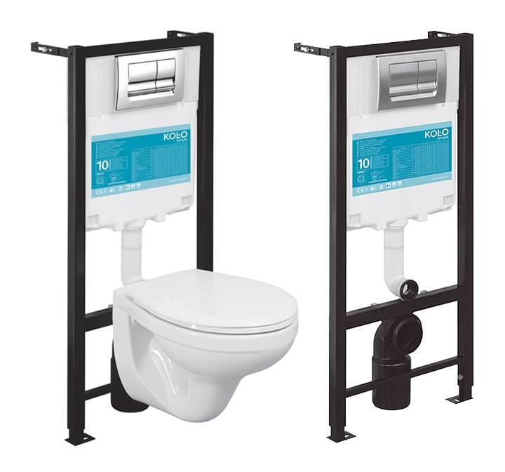 Fot. 6. Dwa stopnie spłukiwania - to już standard. Technologii pozwalających na oszczędzanie wody jest coraz więcej. Fot.: Koło