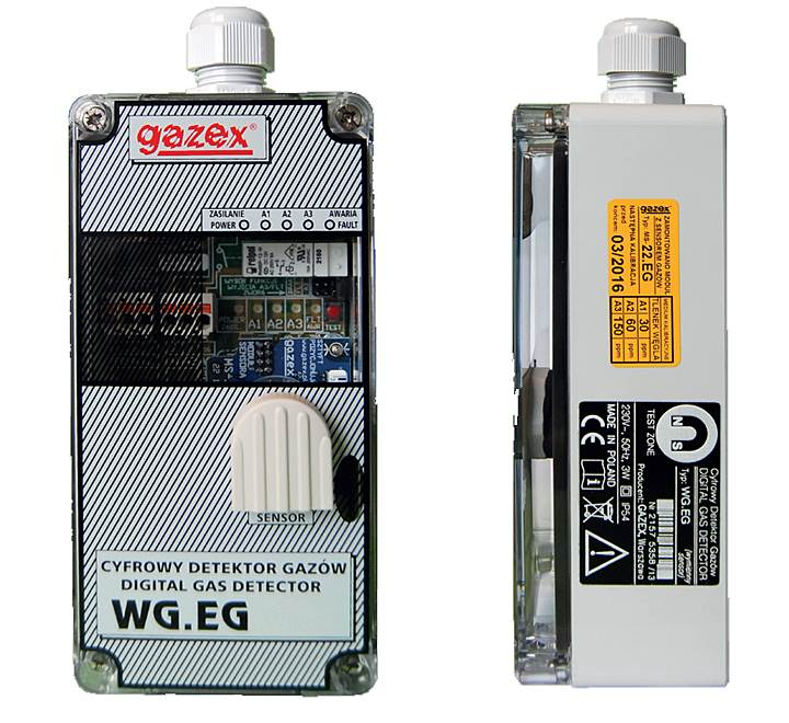 systemy detekcji co i lpg w g - Systemy detekcji CO i LPG w garażach podziemnych