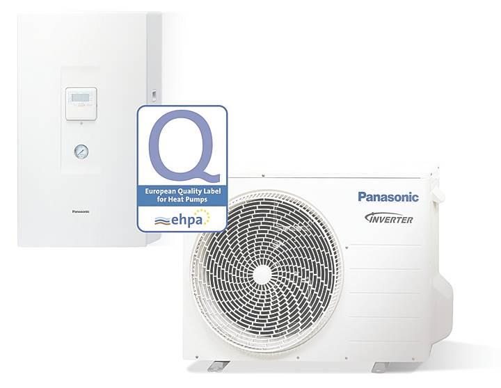 pompy ciepla panasonic aquarea - Pompy ciepła Panasonic Aquarea z etykietami energetycznymi EHPA