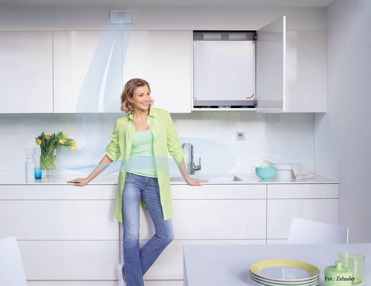 system komfortowej wentylacji - System komfortowej wentylacji pomieszczeń z odzyskiem ciepła, tworzący energooszczędny i zdrowy klimat – Zehnder Comfosystems