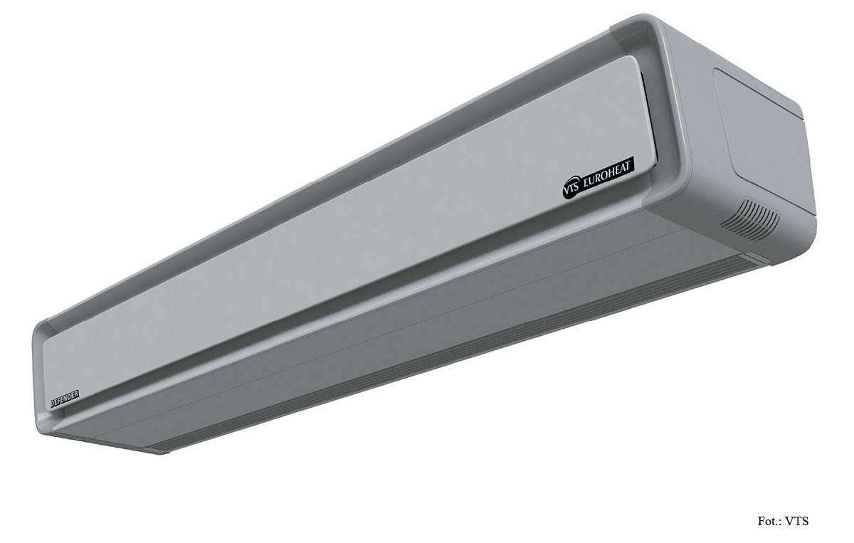 FOT. 4. Szerokość ościeżnicy drzwiowej powinna być mniejsza lub równa szerokości nawiewanego strumienia powietrza.