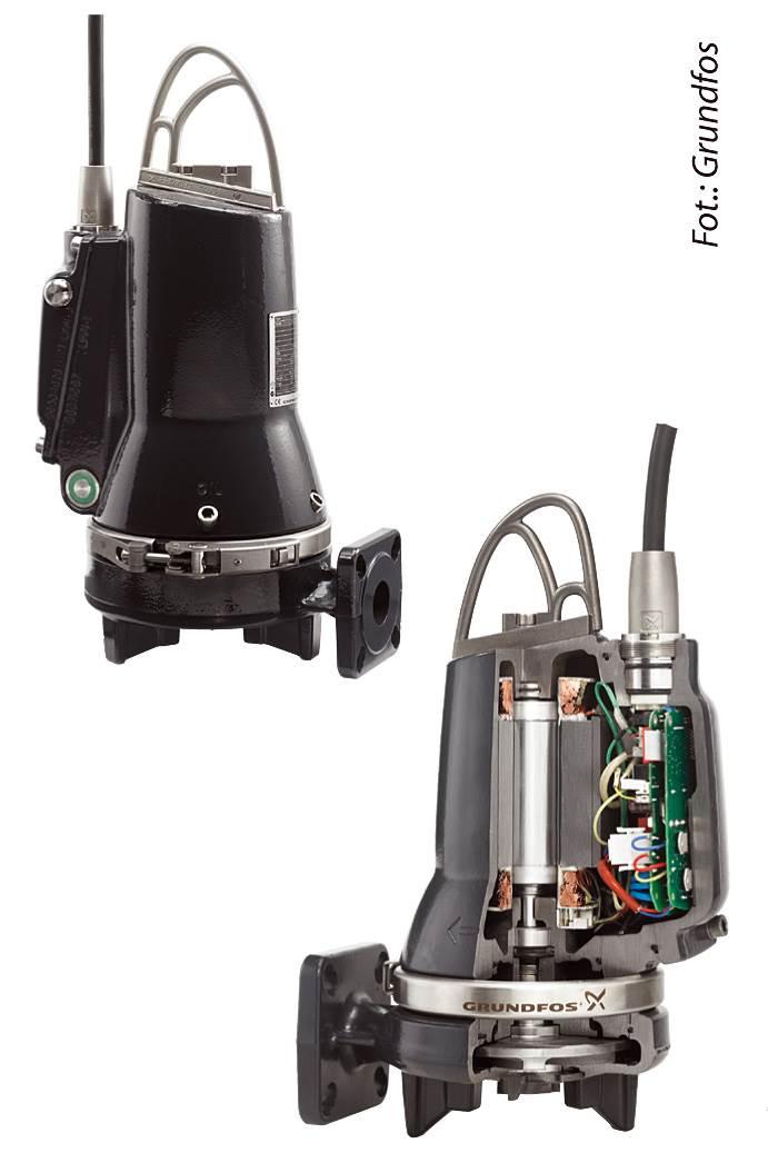 FOT. 6. Nowoczesne pompy to urządzenia automatyczne działające bez konieczności podłączenia zewnętrznych czujników, łączników i przewodów.
