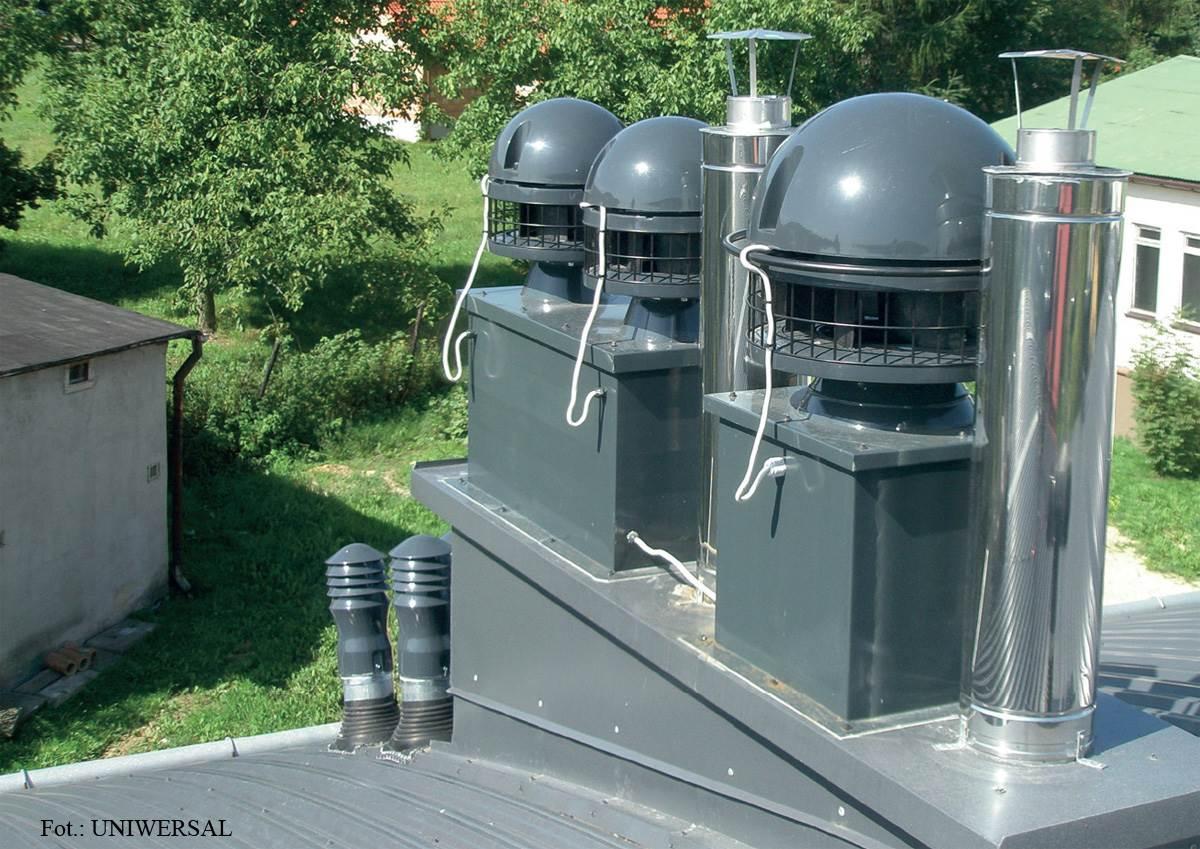 FOT. 2. W wentylacji hybrydowej zastosowanie znajdują specjalne nasady o niskim zapotrzebowaniu na energię elektryczną.