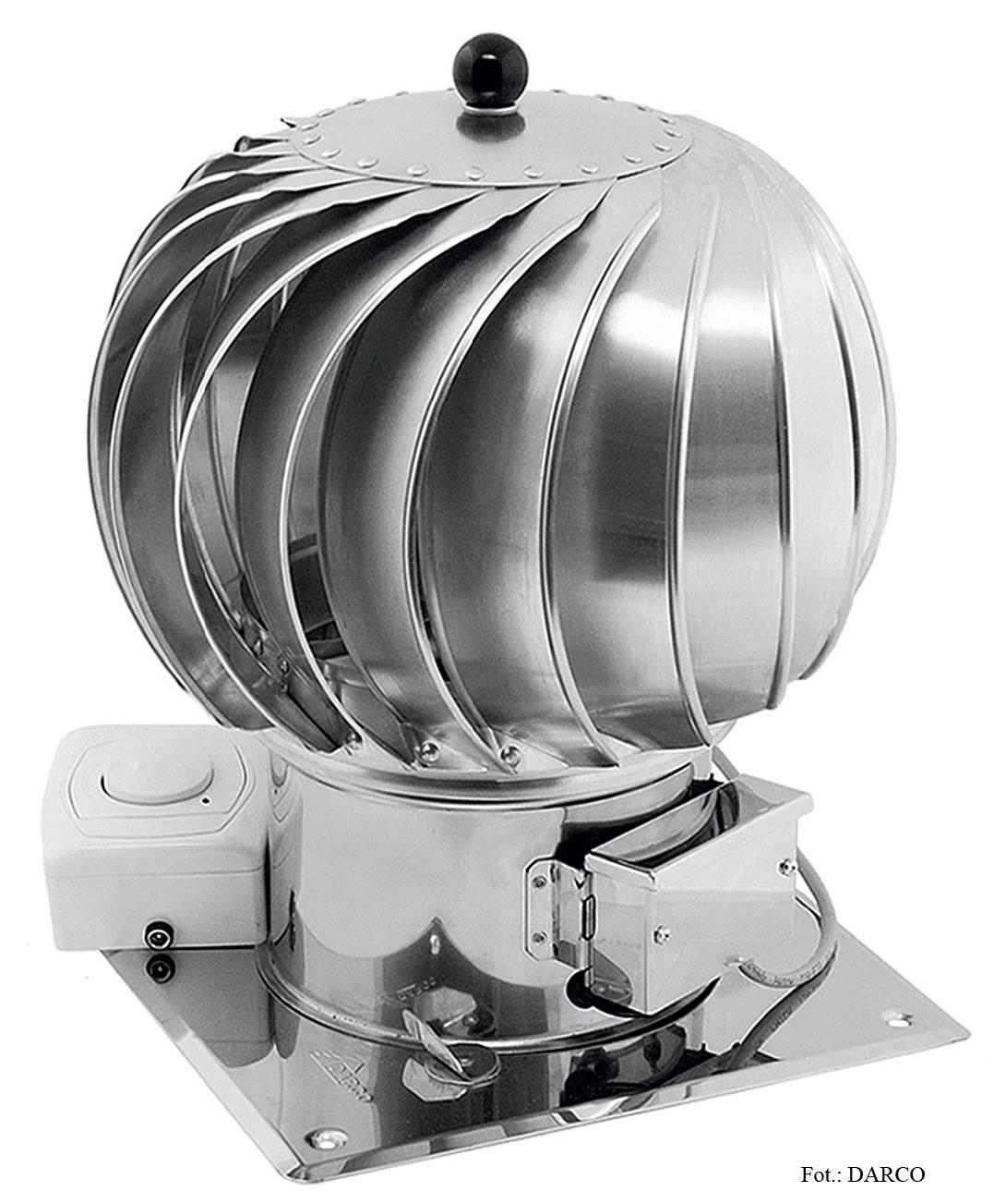 FOT. 4. Turbowentylator hybrydowy z regulatorem.