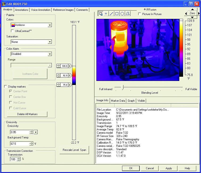 kamera termowizyjna to nie wszystko 1 - Kamera termowizyjna to nie wszystko. Fluke SmartView® – oprogramowanie do analizy i raportowania