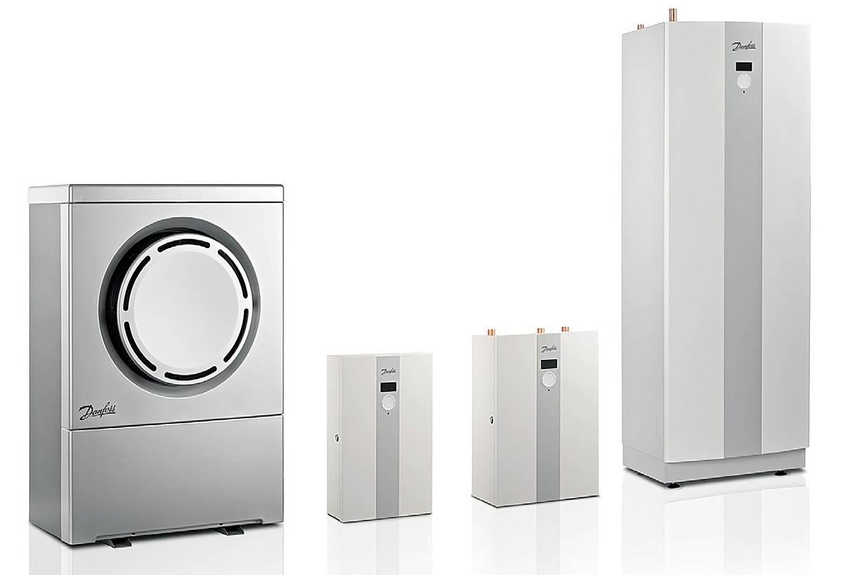 FOT. 5. Oferta producentów jest bardzo szeroka. Na rynku znajdziemy urządzenia z wbudowanym lub oddzielnym zbiornikiem oraz o różnych poziomie zautomatyzowania. Fot.: Danfoss