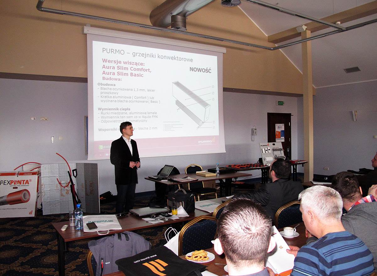 purmo wspiera instalatorow 1 - Purmo wspiera instalatorów