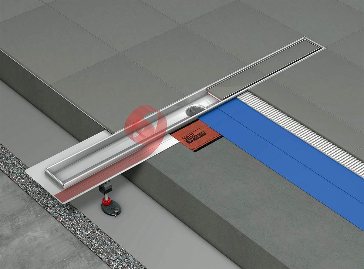 odplyw od linijki 1 - Odpływ od linijki