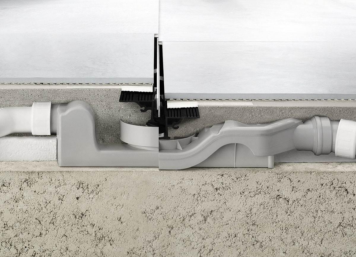 prysznic z odplywem liniowym w remontowanej lazience 1 - Prysznic z odpływem liniowym w remontowanej łazience