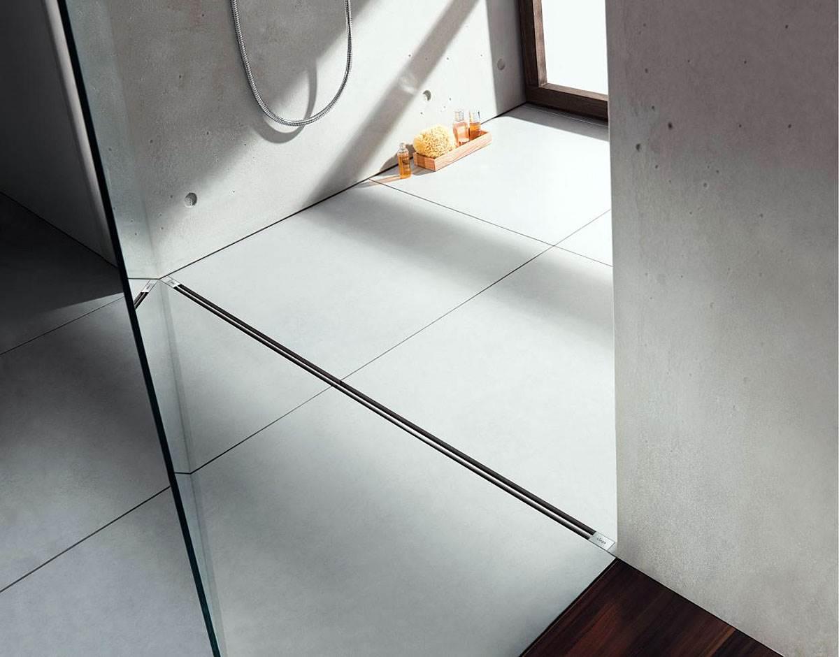 prysznic z odplywem liniowym w remontowanej lazience 2 - Prysznic z odpływem liniowym w remontowanej łazience