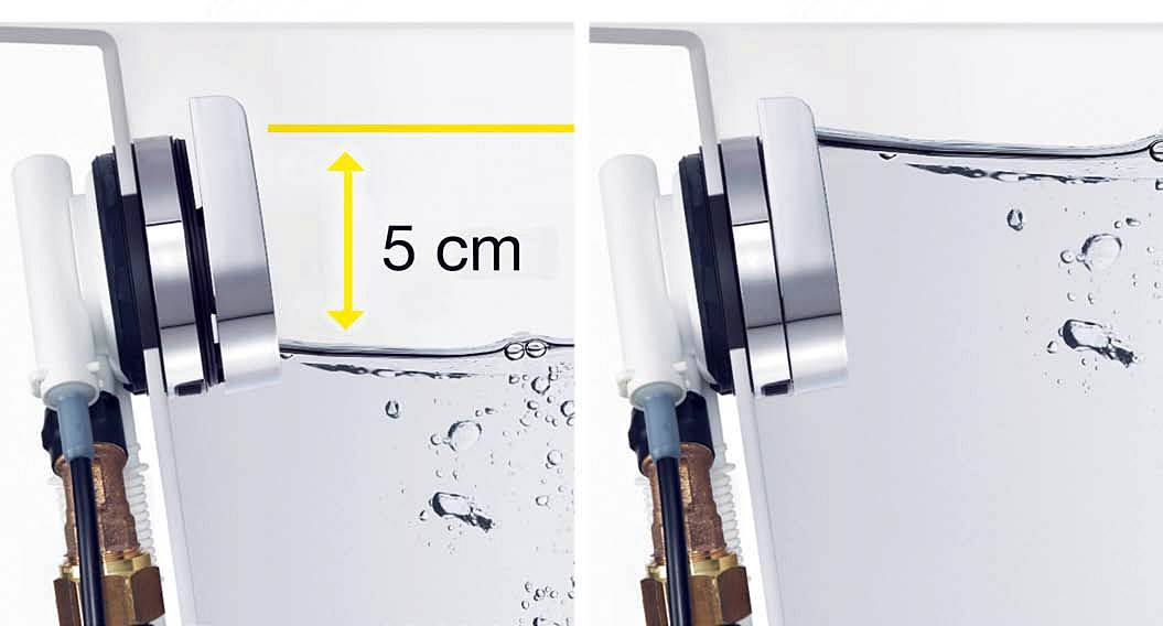 Nowe komplety z serii Multiplex – poziom wody w wannie wyższy o 5 cm