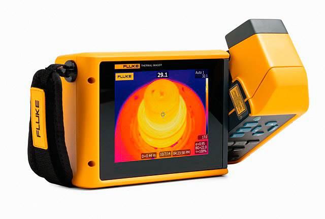 fluke tix520 tix560 nowe kamery termowizyjne serii expert - Fluke TiX520/TiX560 - nowe kamery termowizyjne serii Expert, z największym wyświetlaczem w swojej klasie