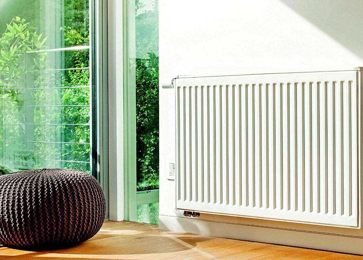 Fot. 4. Najlepsze są grzejniki jednopłytowe, prosta budowa sprawia, że ciepło jest szybciej przekazywane otoczeniu. Fot. Buderus