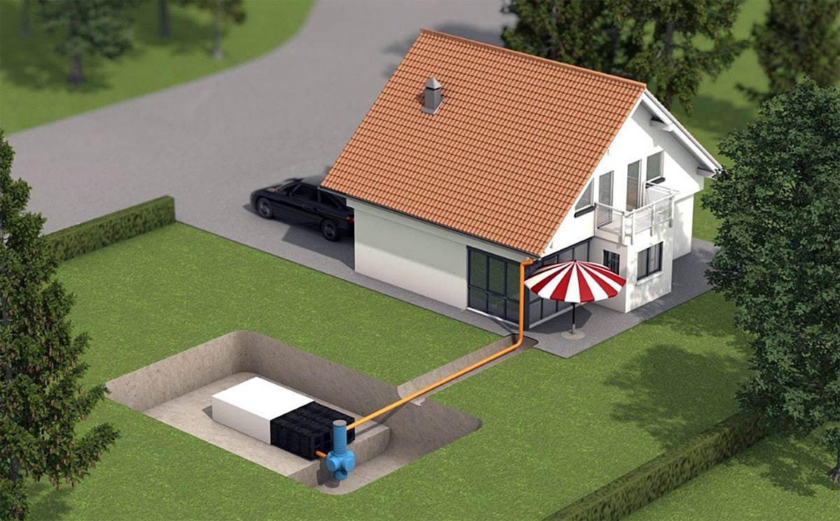 Fot. 3. W kompletnym systemie retencyjno-rozsączającym znajdziemy m.in. rynny i wpusty dachowe oraz odwodnienia liniowe. Fot. REHAU