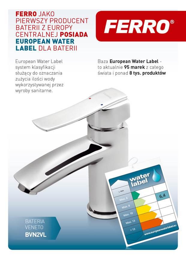 ferro pierwszym producentem z europy centralnej w european water label 1 - FERRO pierwszym producentem z Europy Centralnej w European Water Label