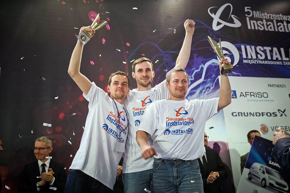nowy mistrz polski instalatorow 2016 - Nowy Mistrz Polski Instalatorów 2016