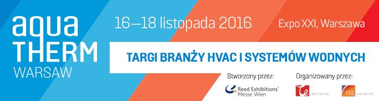 aquatherm 750x200 pl - Międzynarodowe Targi Aquatherm Warsaw po raz drugi w Polsce