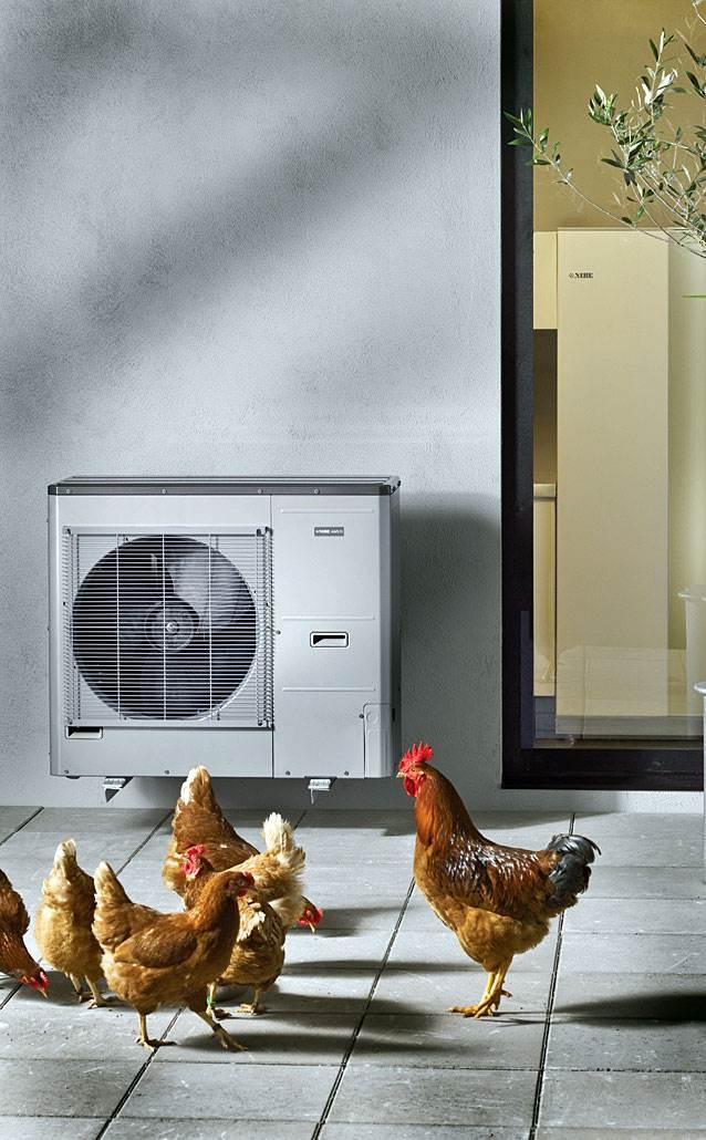 Fot. 3. Pompa ciepła znakomicie zastąpi klimatyzację, jeśli chłodzenie nie jest priorytetem inwestora. Fot. NIBE