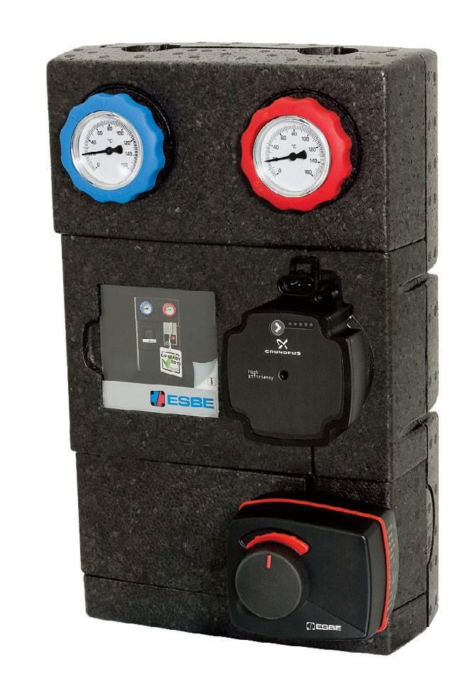 Fot. 2. Cechą nowoczesnych pomp elektronicznych jest dostosowanie parametrów do bieżących wymagań instalacji. Fot. ESBE