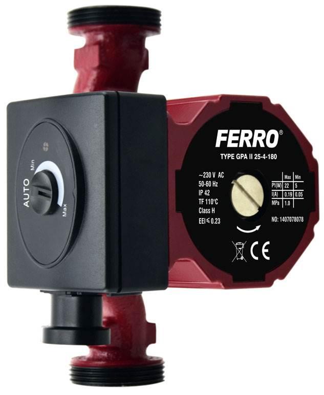 Fot. 3. Potencjometr pozwala na bezstopniowe regulowanie wydajności pompy i wysokości podnoszenia. Fot. Ferro