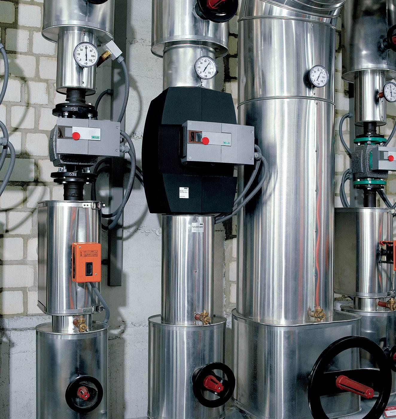 Fot. 5. Zapotrzebowanie na energię elektryczną pomp obiegowych ze sterowaniem elektronicznym jest o 2–5 razy mniejsze w porównaniu z tradycyjnymi pompami. Fot. Wilo