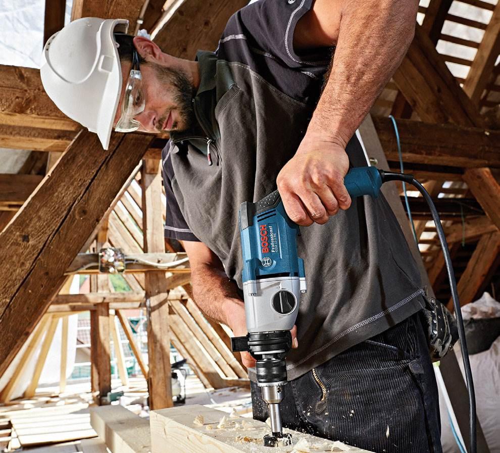 Wyjątkowa szybkość, precyzja i bezpieczeństwo pracy - wiertarka Bosch GBM 13-2 RE Professional