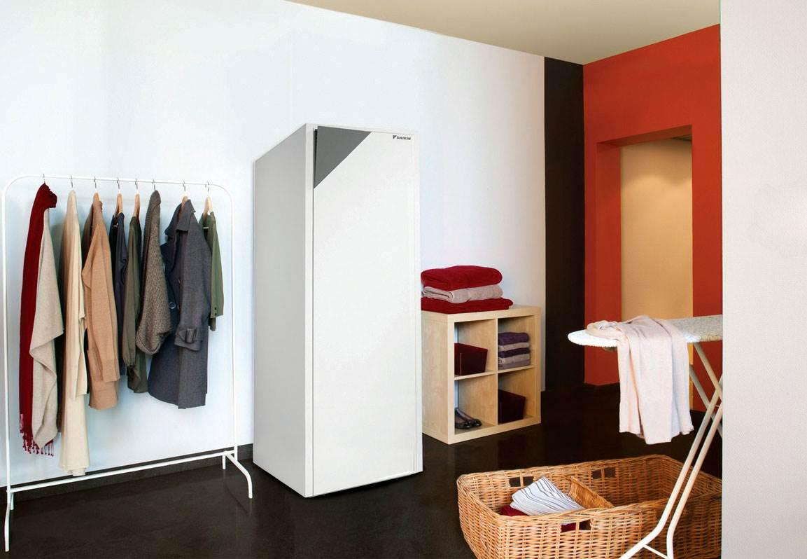 Fot. 2. Do chłodzenia budynku latem można wykorzystać każdą pompę ciepła, która ma dostępną funkcję chłodzenia. Fot. DAIKIN